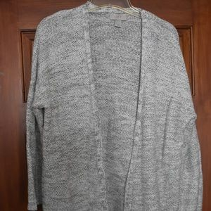 Loft women's Gray Knit Cardigan XS